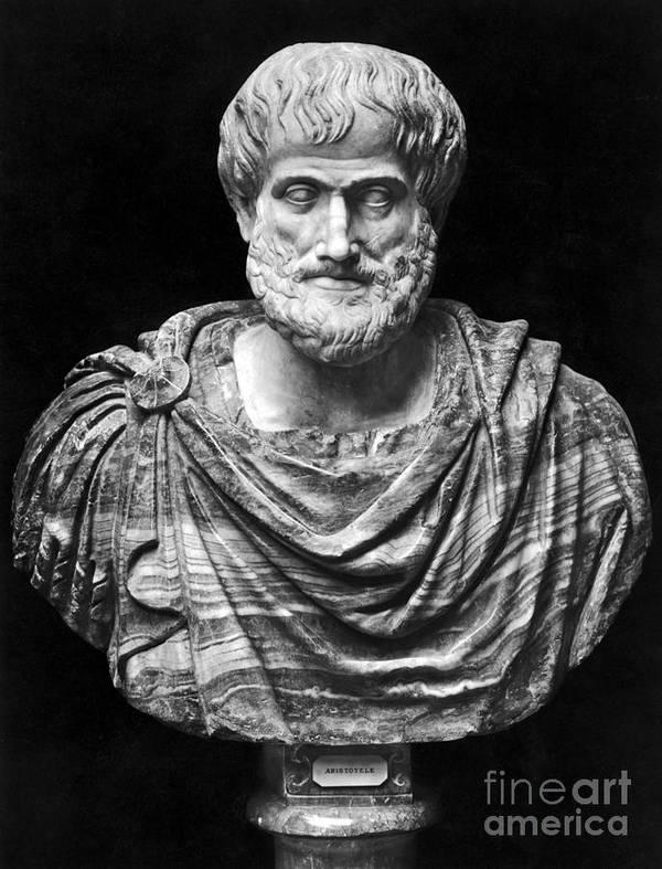 4th Century B.c Art Print featuring the photograph Aristotle (384-322 B.c.) by Granger