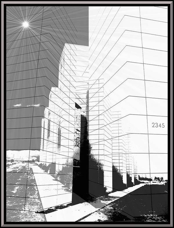 Buildings Art Print featuring the photograph Building Blocks by Glenn McCarthy Art and Photography