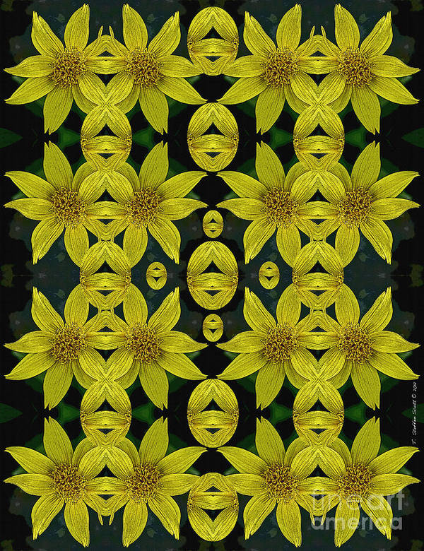 Yellow Art Print featuring the photograph Imagine What Could Be by Taylor Steffen SCOTT
