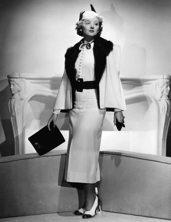11x14lg Art Print featuring the photograph Myrna Loy, Mgm Portrait By Clarence by Everett