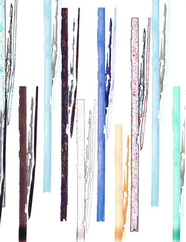 Collage Art Print featuring the digital art Pipes3 by J erik Leiff