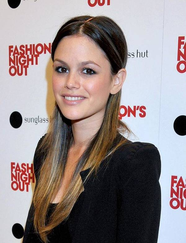 Rachel Bilson Art Print featuring the photograph Rachel Bilson At A Public Appearance by Everett