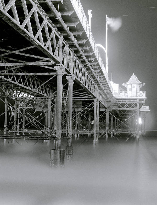 Brighton Art Print featuring the photograph The Palace Pier by Shaun Higson