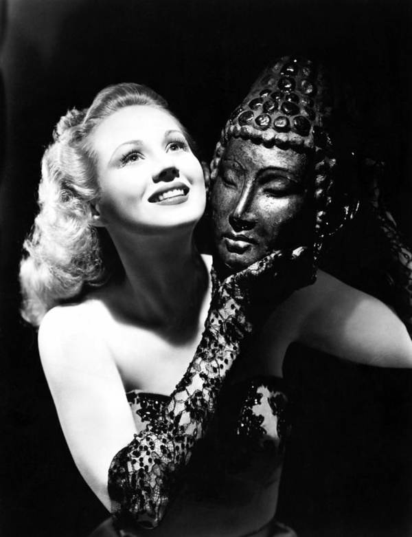 1940s Portraits Art Print featuring the photograph Virginia Mayo, Ca. Early 1940s by Everett
