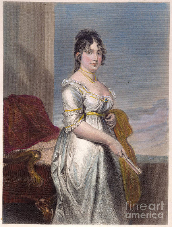 18th Century Art Print featuring the photograph Dolley Payne Todd Madison by Granger
