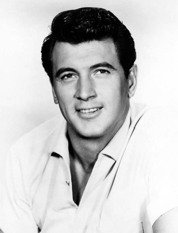 1950s Portraits Art Print featuring the photograph Rock Hudson, 1950s by Everett