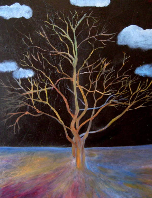 Spirits Art Print featuring the painting Hope by Janpen Sherwood