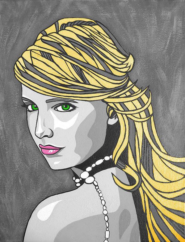 Art Print featuring the digital art Buff by Sarah Crumpler