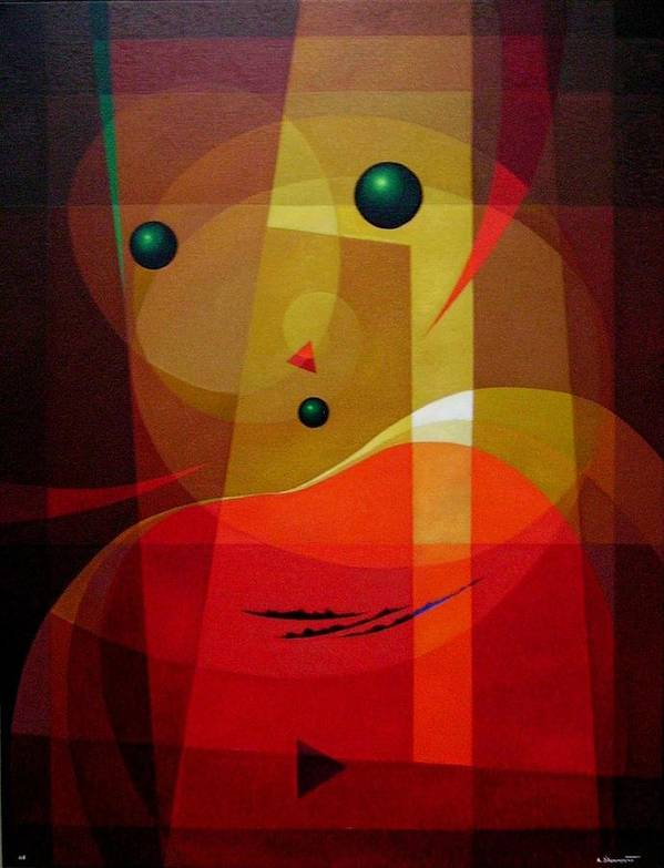 #abstract Art Print featuring the painting Doors Of Perception by Alberto DAssumpcao