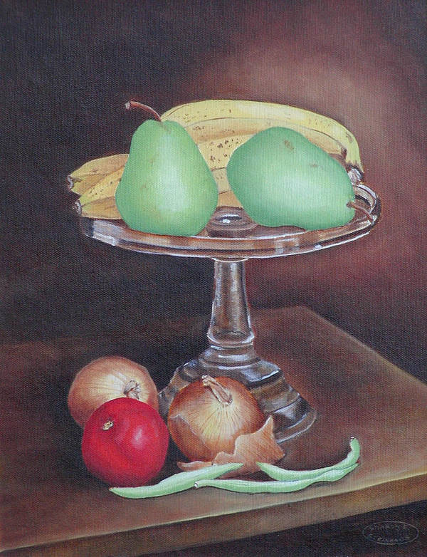 Still Life Art Print featuring the painting Essentials by Sharon Steinhaus