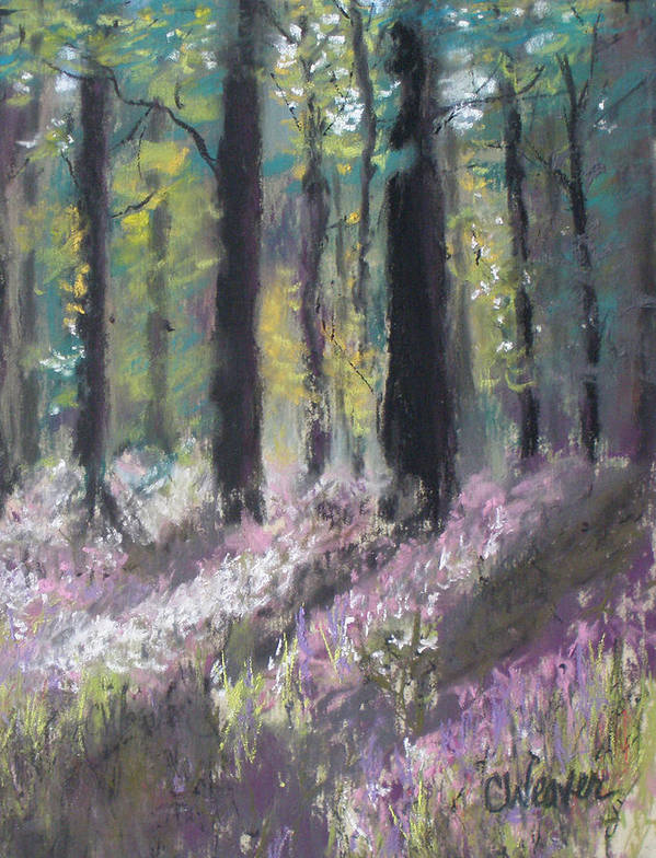 Impressionist Art Print featuring the painting Gentle Wakening by Cathy Weaver