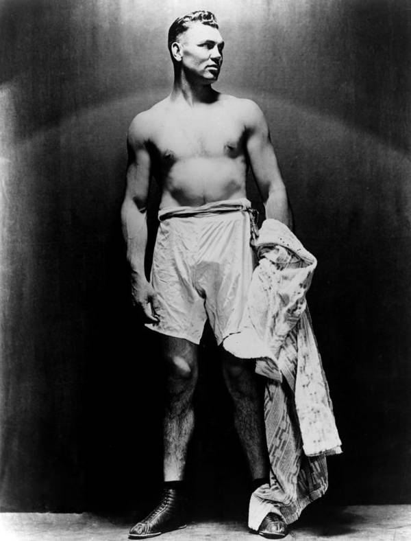Barechested Art Print featuring the photograph Jack Dempsey, Circa 1920s by Everett
