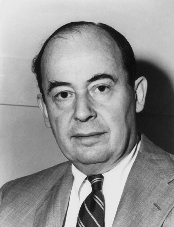 History Print featuring the photograph John Von Neumann 1903-1957 by Everett