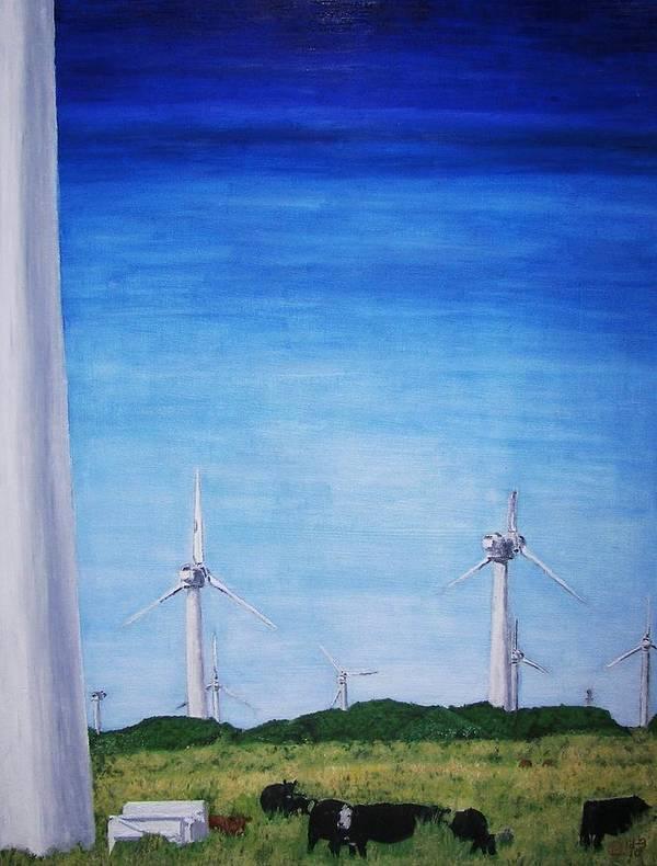 Ka Lea Art Print featuring the painting Ka Lea by Is Art E Studio