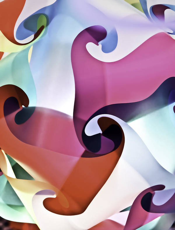 Abstract Art Print featuring the photograph Lets Dance by Mark Coran