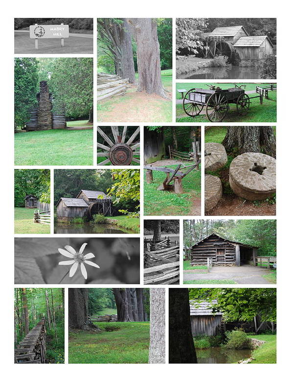 Water Art Print featuring the photograph Mabry Mill by Eric Liller