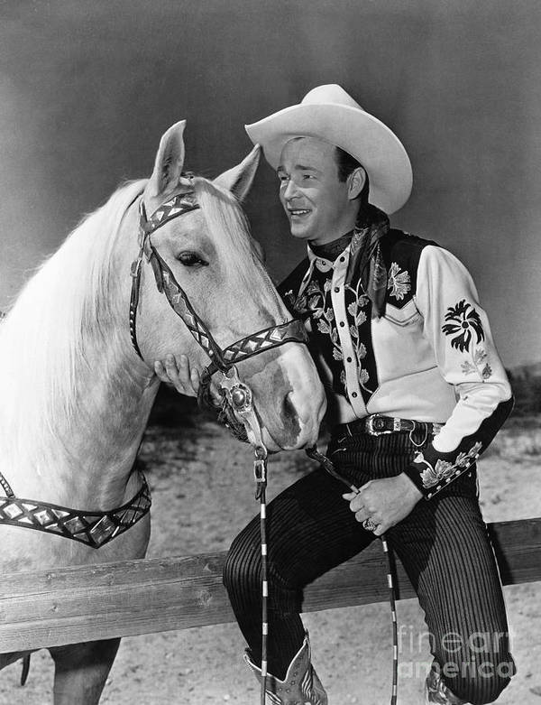 20th Century Art Print featuring the photograph Roy Rogers by Granger