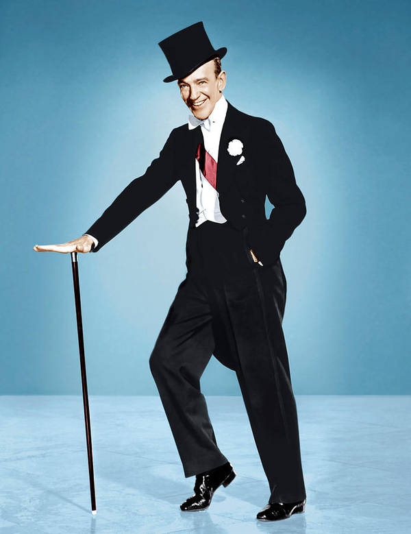 1950s Portraits Print featuring the photograph Silk Stockings, Fred Astaire, 1957 by Everett