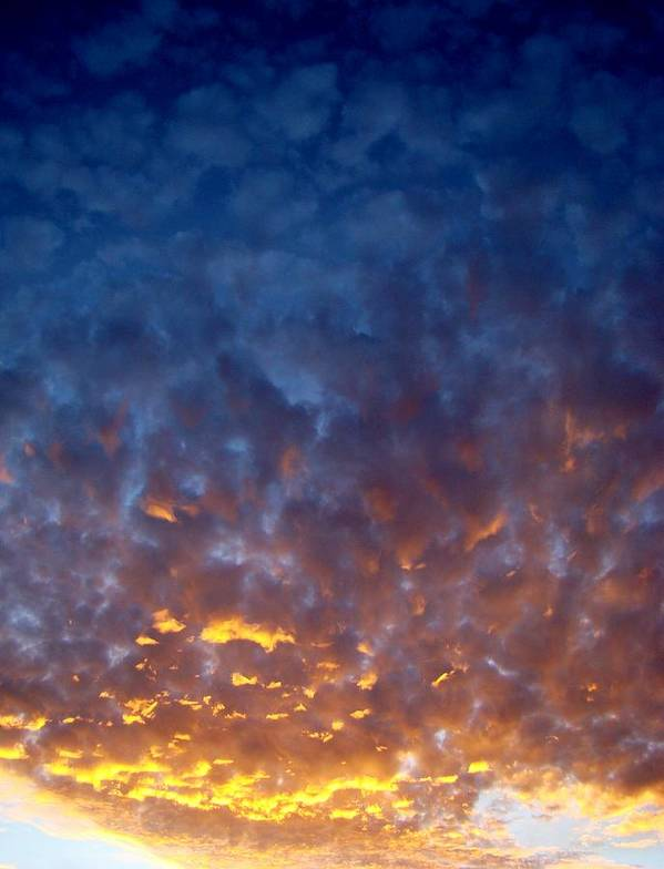 Clouds Art Print featuring the photograph Supernatural Cloud Two by Ana Villaronga