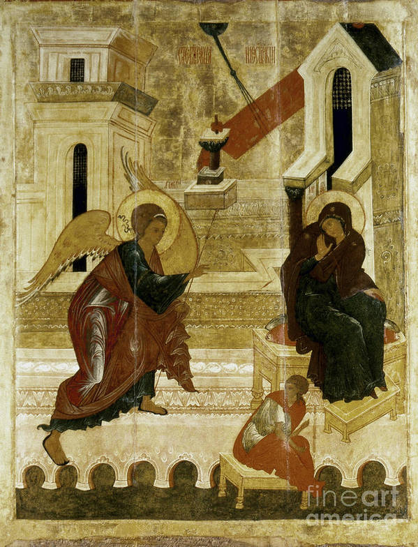 16th Century Art Print featuring the photograph The Annunciation by Granger