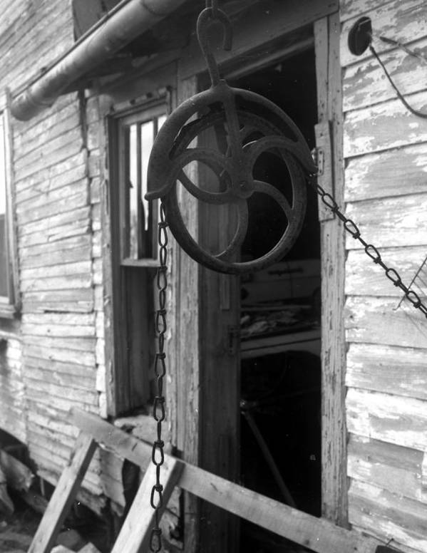 Ansel Adams Art Print featuring the photograph Waterpulley by Curtis J Neeley Jr