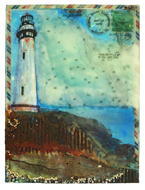 Journey to the Lighthouse Pigeon Point, Pescadero California by Jocelyn Cruz