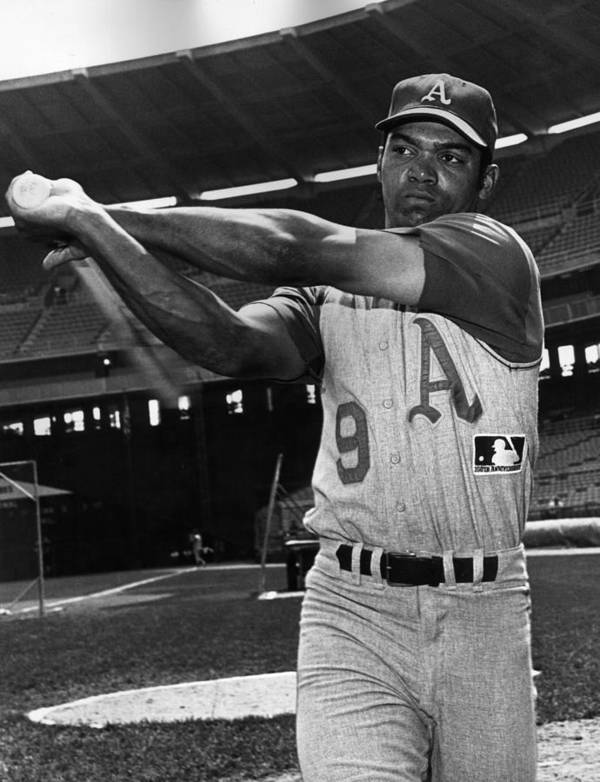 People Art Print featuring the photograph Reggie Jackson by Hulton Archive