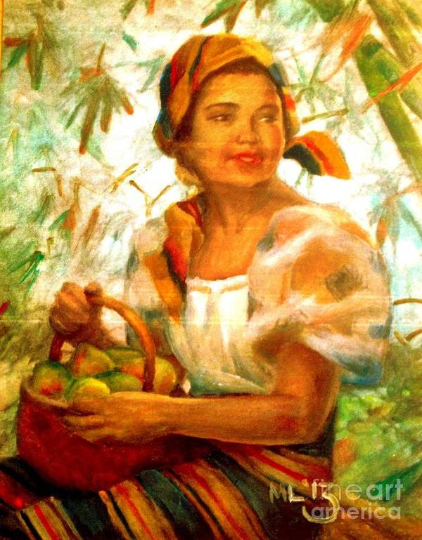 By Amorsolo Art Print By Maria Leah Comillas