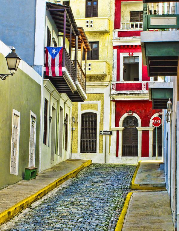 San Juan Art Print featuring the photograph Colors Of Old San Juan Puerto Rico by Carter Jones