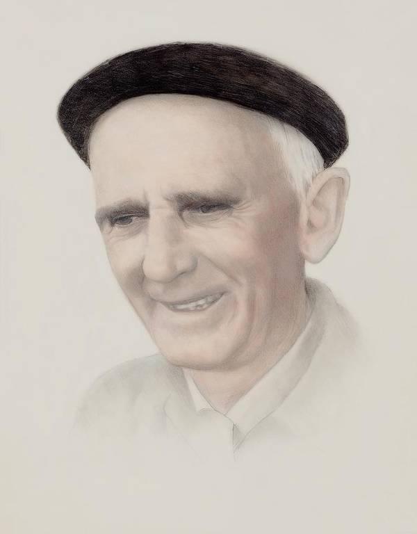 Otraparte.org Art Print featuring the drawing Fernando Gonzalez Ochoa by Mark Leavitt