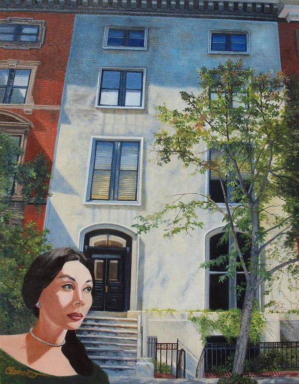 Spindrift Art Print featuring the painting In The Way Of Spindrift Jan Bryant Bartell by Barbara Barber