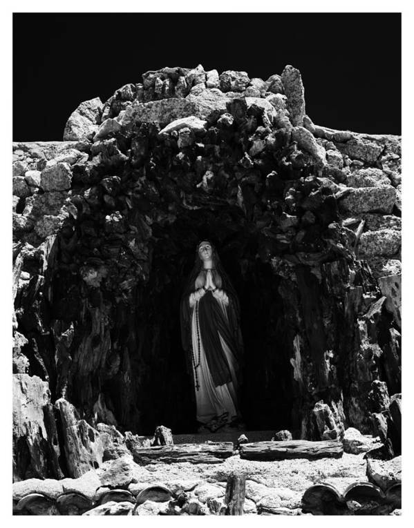 Art Photography Art Print featuring the photograph Grotto To Our Lady by Franklin Jeffers