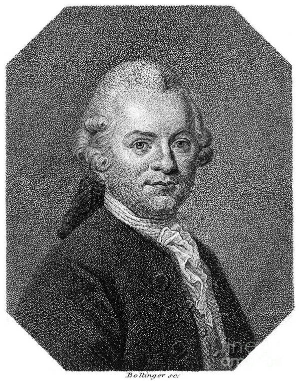 18th Century Art Print featuring the photograph Gotthold Ephraim Lessing by Granger
