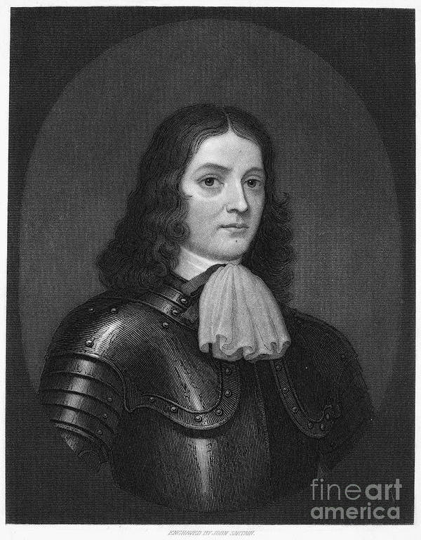 18th Century Print featuring the photograph William Penn (1644-1718) by Granger