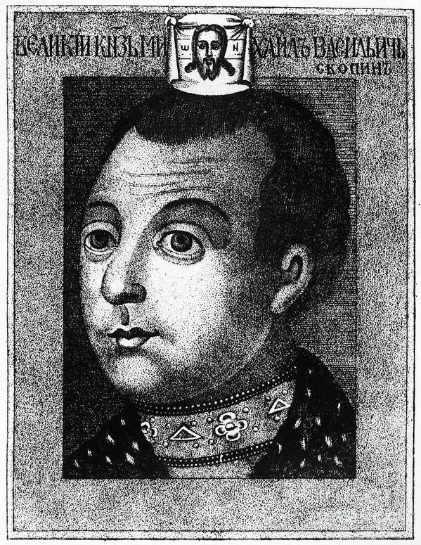 1590s Art Print featuring the photograph Boris Godunov (c1551-1605) by Granger