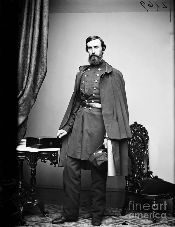 1863 Art Print featuring the photograph Civil War: Paymaster by Granger