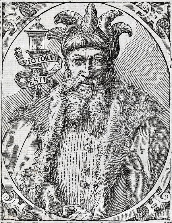 Saladin Art Print featuring the photograph Saladin, Sultan Of Egypt And Syria by Middle Temple Library
