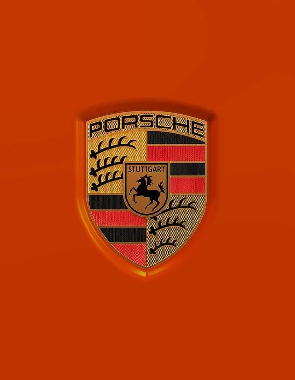 Porsche Logo Art Print