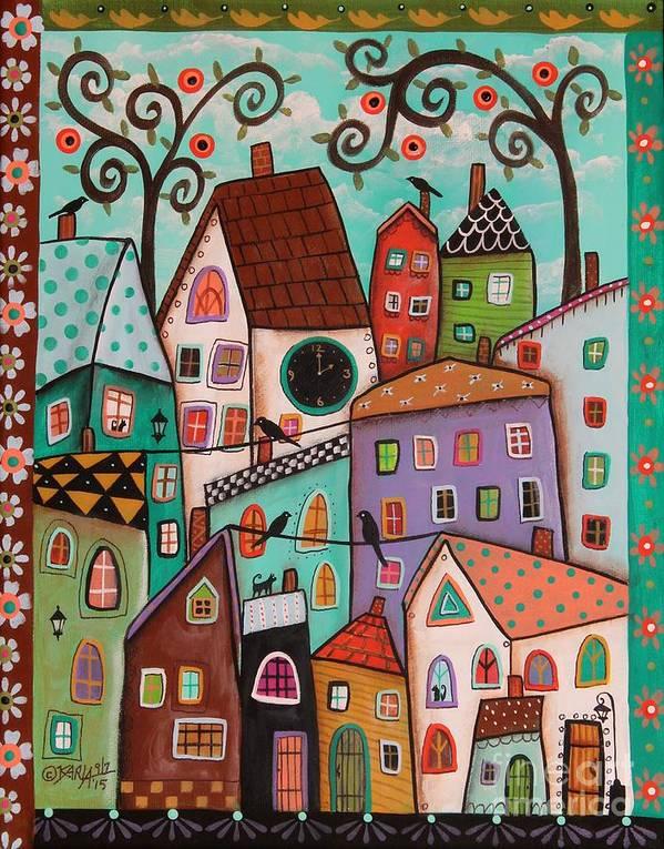 Afternoon Art Print By Karla Gerard