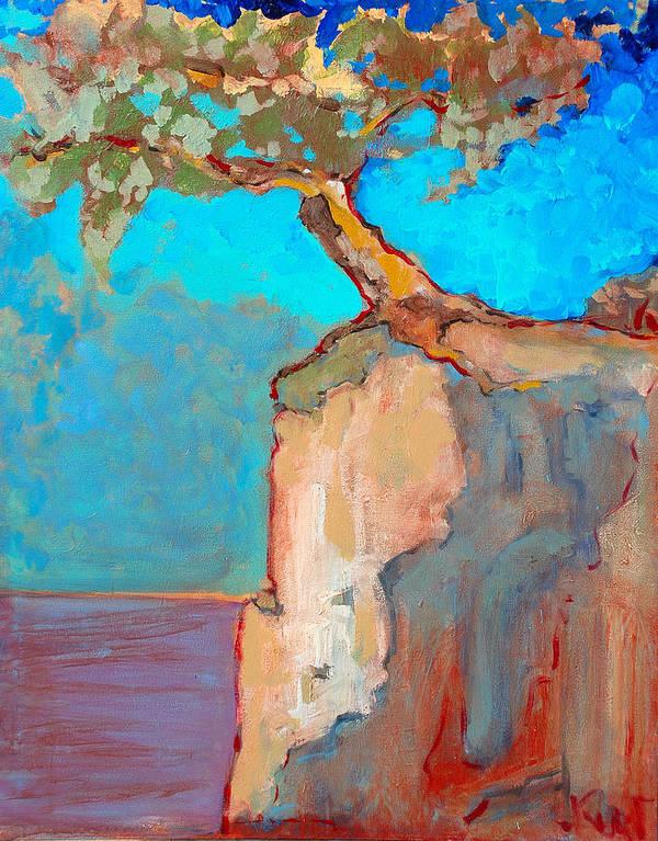 Tree Art Print featuring the painting Albero by Kurt Hausmann