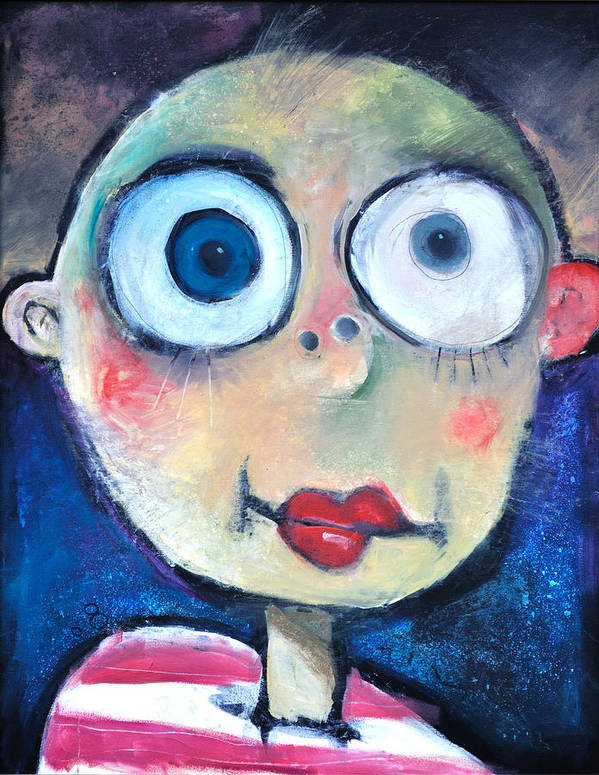 Child Art Print featuring the painting As A Child by Tim Nyberg