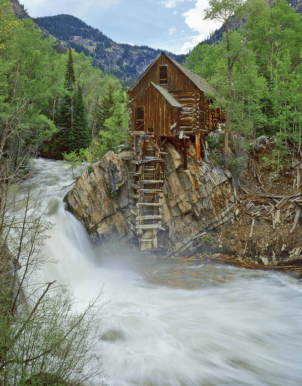 Colorado Art Print featuring the photograph Crystal Mill Swirls by Dusty Demerson