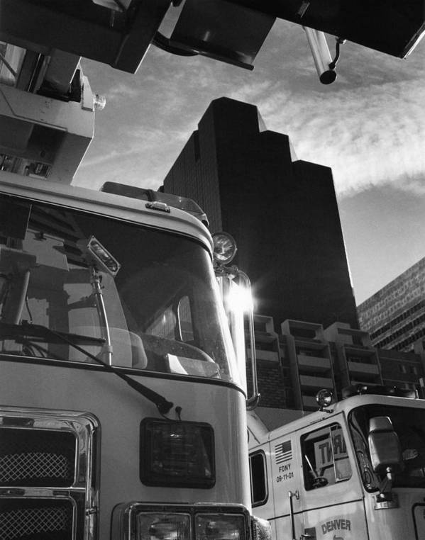 Tower Art Print featuring the photograph Denver Fire Fdny Tower by Jim Furrer
