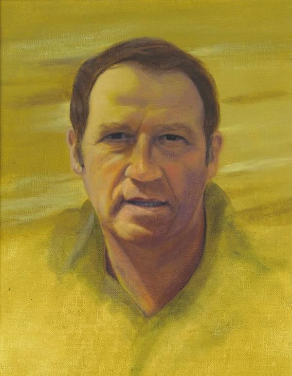 Portrait Art Print featuring the painting Doug by Laurel Ellis