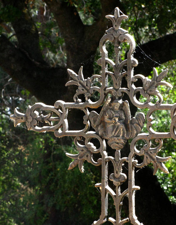 Embellished Cross Art Print featuring the photograph Embellished Cross by Peter Piatt