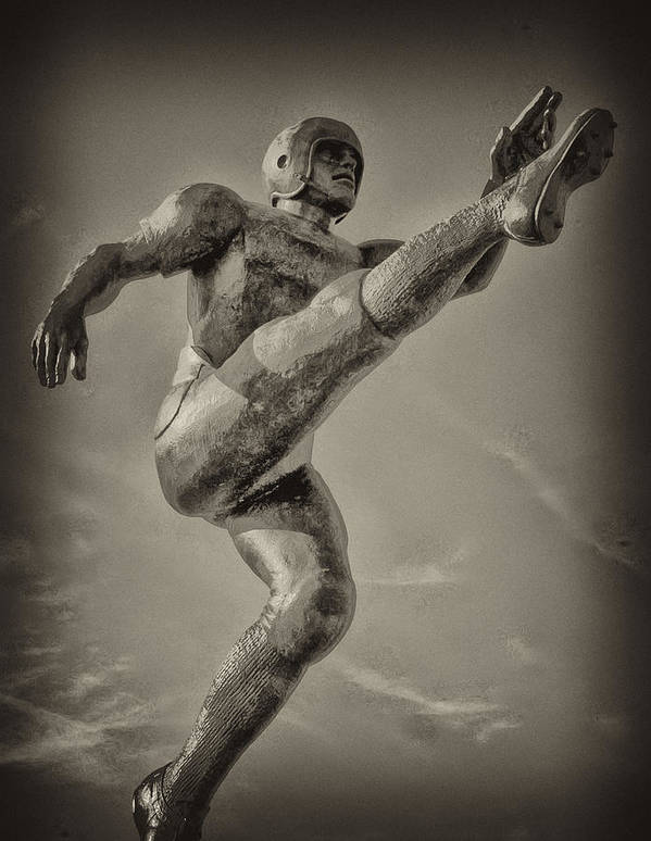 Football Art Print featuring the photograph Field Goal by Bill Cannon