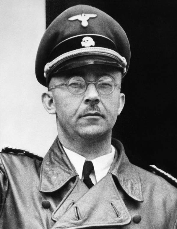 1940s Portraits Print featuring the photograph Heinrich Himmler 1900-1945, Nazi Leader by Everett