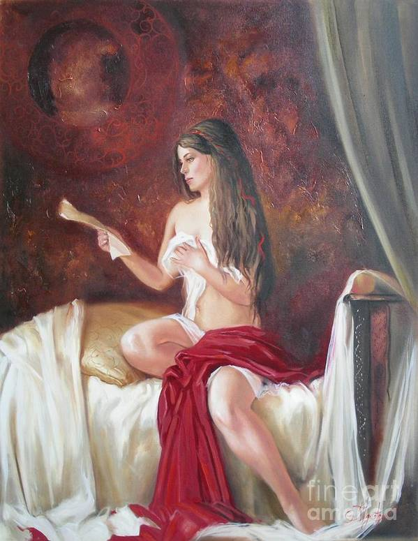 Ignatenko Art Print featuring the painting Heir by Sergey Ignatenko
