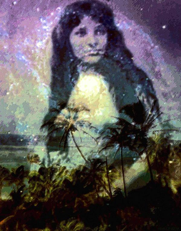 Tropical Interior Design Art Print featuring the photograph Ho Omana O by Kenneth Grzesik