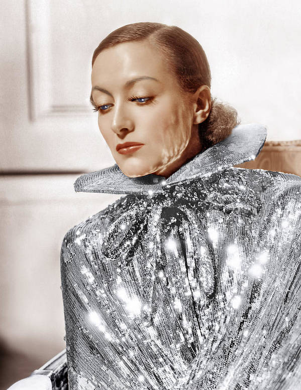 1930s Fashion Art Print featuring the photograph Joan Crawford, Photo By Hurrell, Ca by Everett